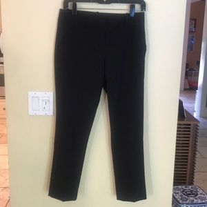 The Limited Black Tailored Cigarette Pants